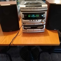 Daewoo ami-910l + 2 speakers