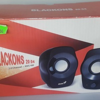 Genius blackons sp-j120 speakers