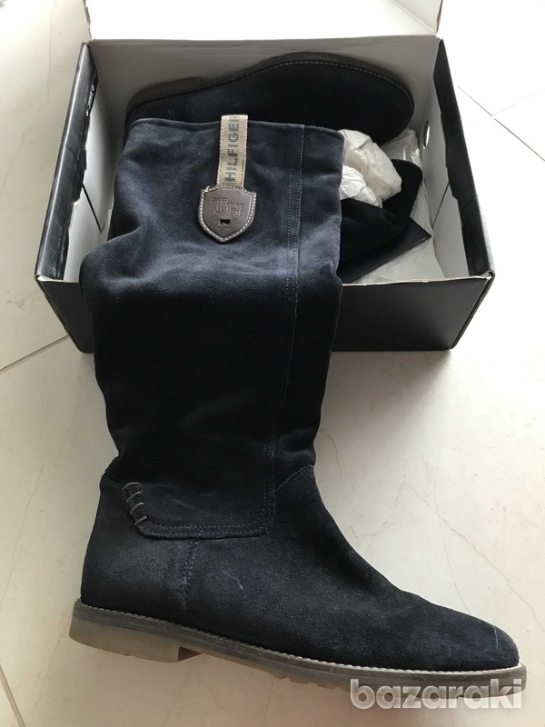 Tommy hilfiger suede boots-2