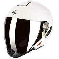 Scorpion exo 300 solid wht/glossy