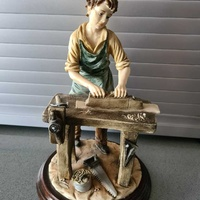 Figurine - carpenter