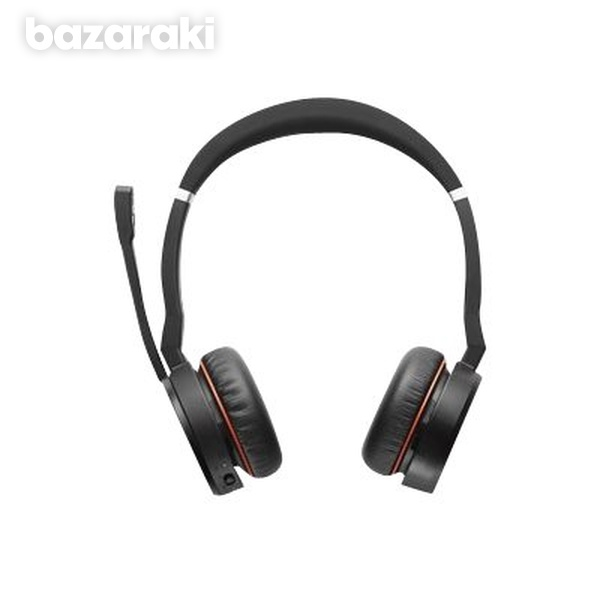 Jabra evolve 75 ms link 370 incl. headset charging stand - stock-2