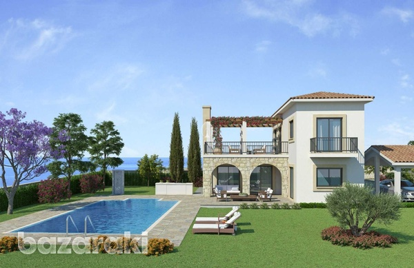 Three bedroom villa close to st george fishing harbour in peyia-10
