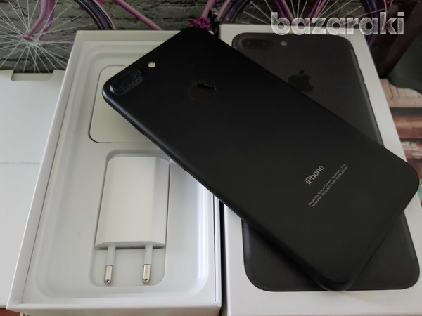 Apple iphone 7 plus 128gb black with box and accessories-6