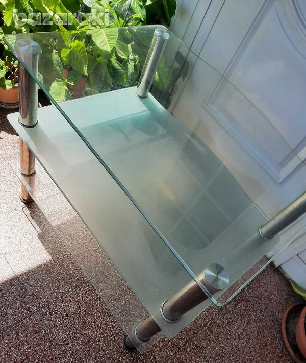 Glass table-1