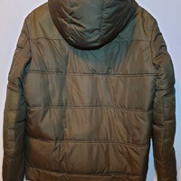 Men khaki casual jacket l