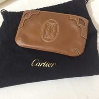 Cartier small leather bag