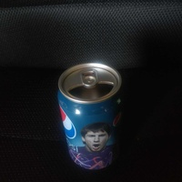 Pepsi collectible tin speaker with messi