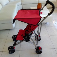 Stroller big size excellent condition like new with solid wheels.