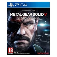 Sony playstation 4 - metal gear solid v ground zeroes - ps4