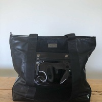 Vjc versace black women bag large
