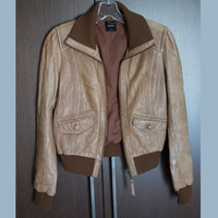 Leather oasis jacket