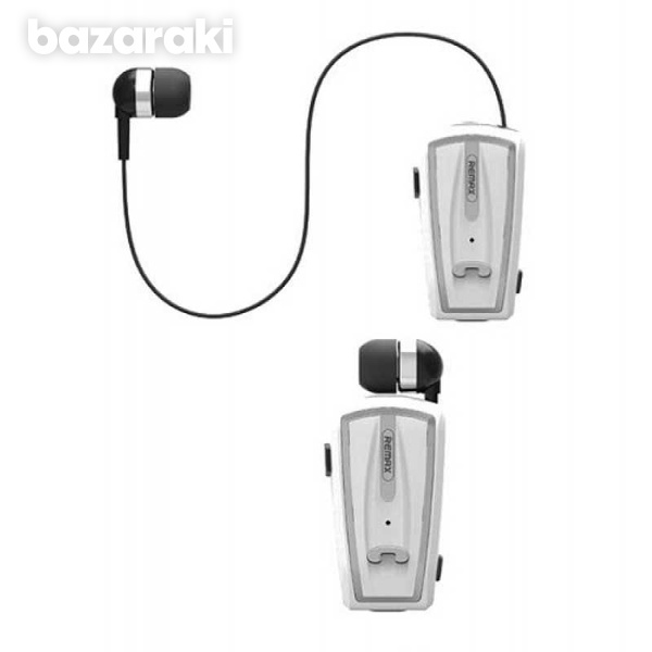Remax rbt12 clip on bluetooth v4 0 wireless headset and handsfr-1