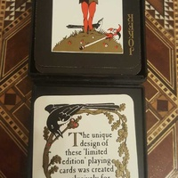 Collectible playing cards players commemorative by artist nick
