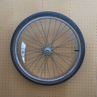 Raleigh front wheel and tyre