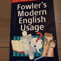 Modern english usage book