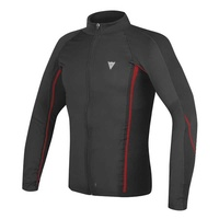 D-core no-wind thermo tee ls blk/red