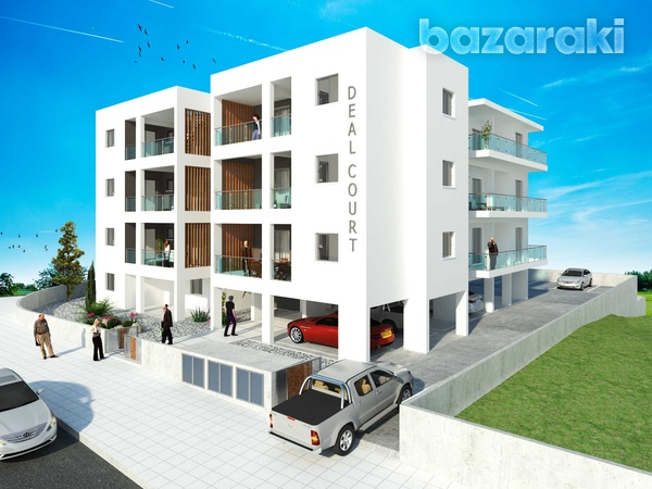 Agios athanasios - deal court - 2 bedroom apartments-1