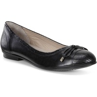 Ecco black ballerinas almost in brand-new condition