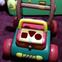 Early learning center baby walker and entertainment game
