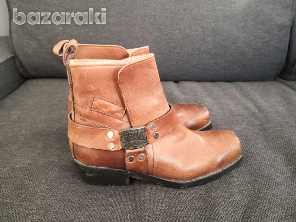 Cherokee motorcycle leather boots 40-1
