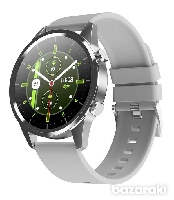 Fitness watch android ios make bluetooth call heart rate blood pressure-7