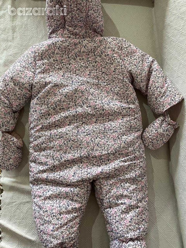 Mothercare snow winter sleeping suit 6-9 months-2