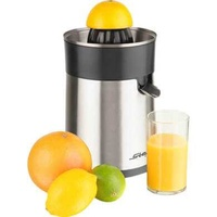 Steba design citrus press zp 1 inox/black