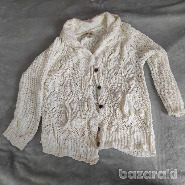Knitted cardigan-1