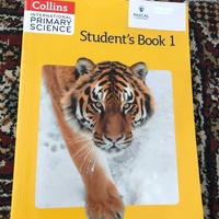 Collins international primary science student book 1