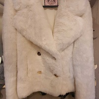 Juicy couture faux fur jacket