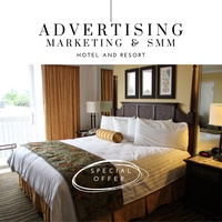 Hotels and resorts advertising, marketing and smm