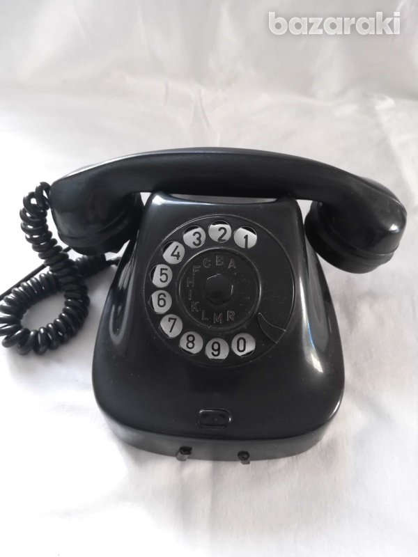 Old retro phone from 1963.-2