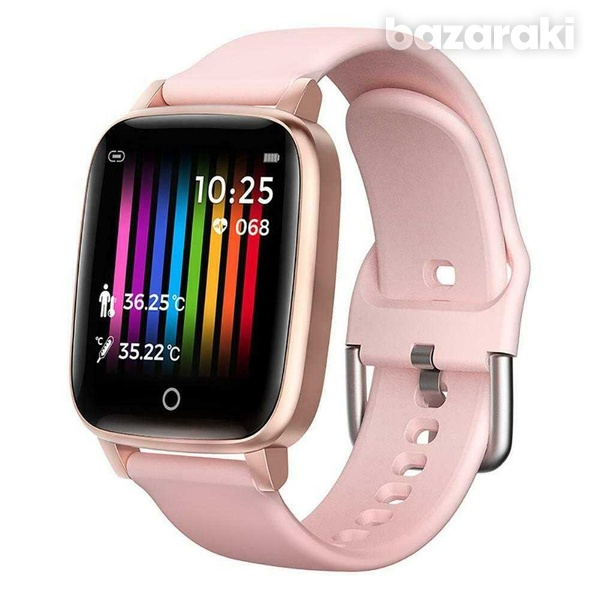 Body temperature blood pressure heart rate fitness watch-2
