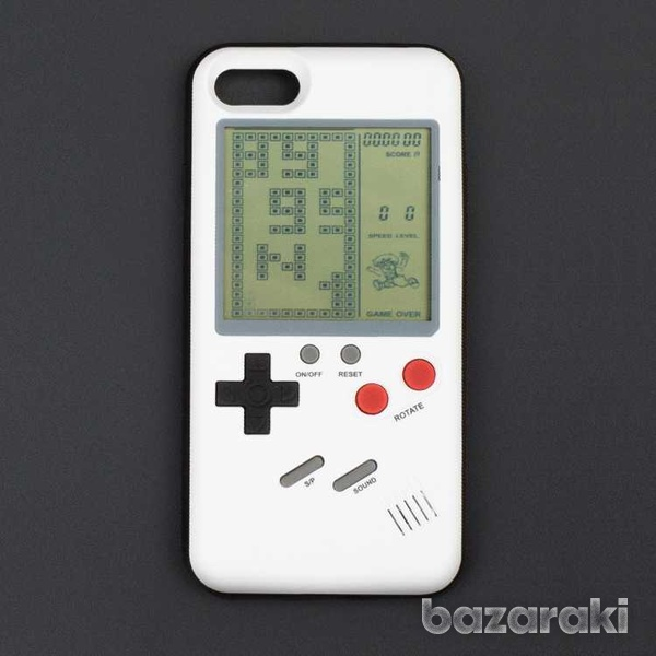 Tetris case for iphone 8 7 6 plus retro game-1