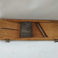 Antique wooden food grater adjustable7