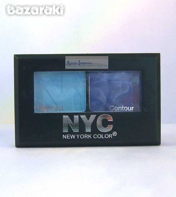 Nyc eye shadow yankee blues