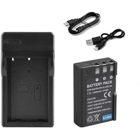 Nikon enel9a battery with portable travel charger