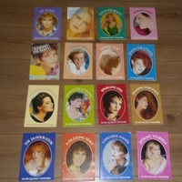 Set of beauty booklets