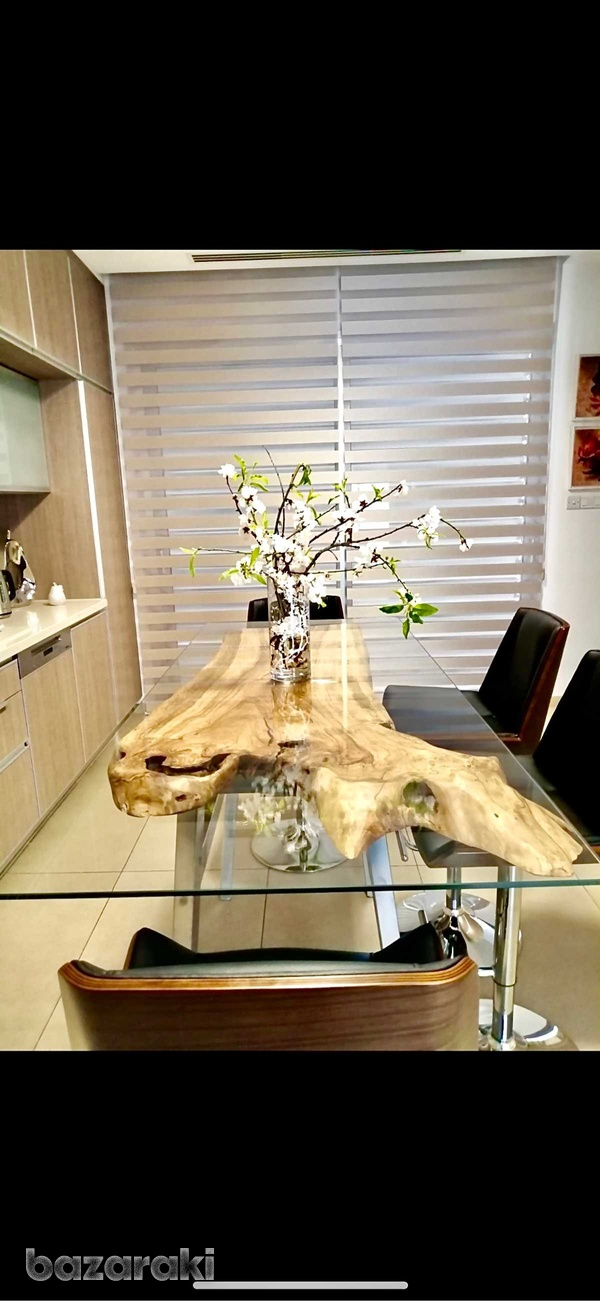 Olive wood dining tables