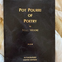 Poetry book by niall moore
