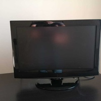 22 inch flat screen tv with digibox