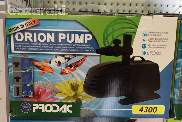 Prodac orion pump 4300l/h για λιμνες-1