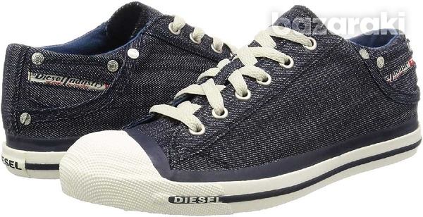 New,diesel casual denim lace-up new shoes size 42-2