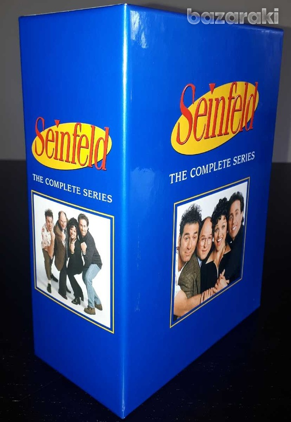 Seinfeld the complete series dvd box-set, region 1-1