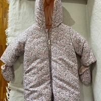 Mothercare snow winter sleeping suit 6-9 months