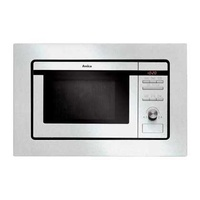 Amica ammb20e1g1 built-in microwave, inox