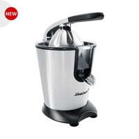 Steba design citrus press zp 2 inox/black