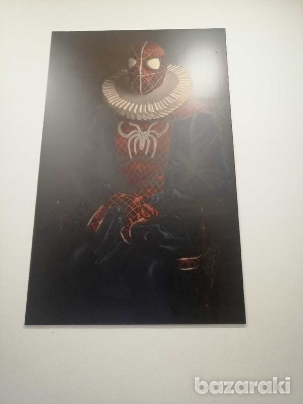 Spiderman vintage photography 2m x 1m