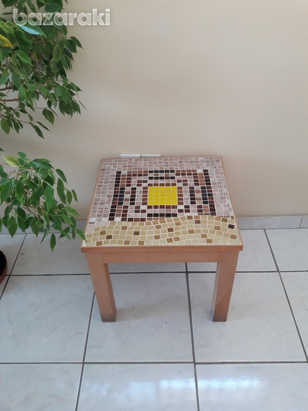Handmade mosaic coffee table-1